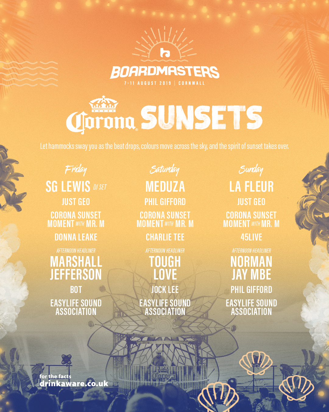 Stages & Venues   Boardmasters Festival 2019