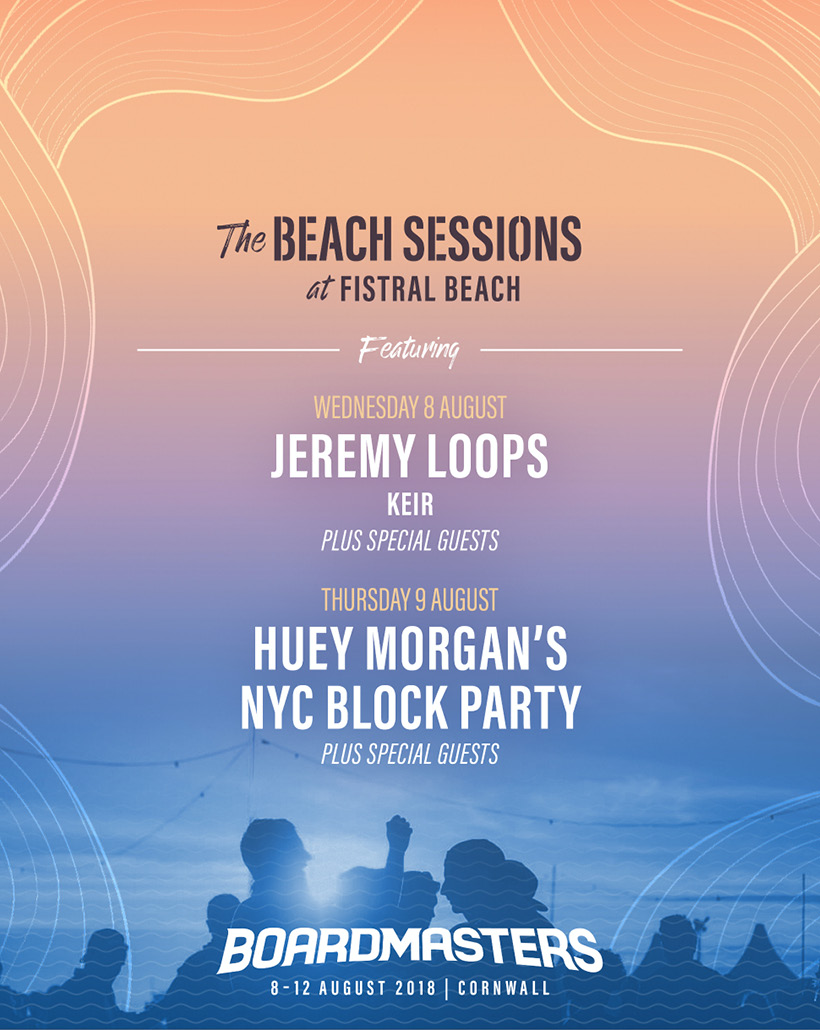 Boardmasters Beach Sessions 2018