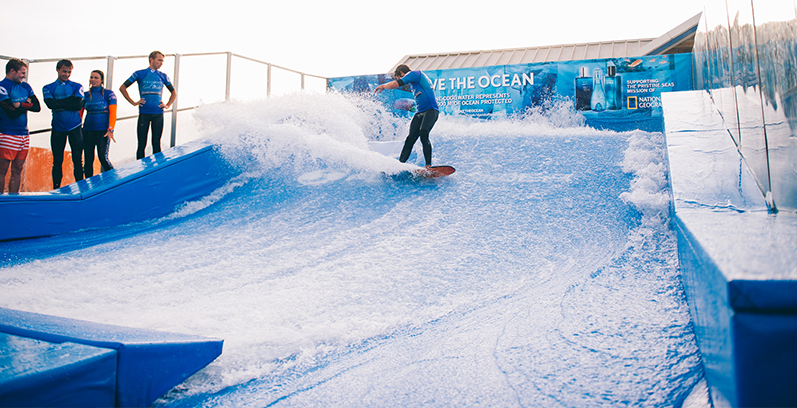 Boardmasters Festival 2015 Surf Pool Wave Ride