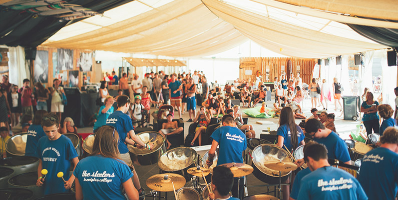 Boardmasters Festival 2015 Beach Bar The Sleepers Live Music Drinks Alcohol