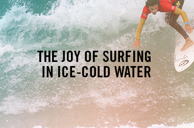 The Joy of Surfing Ice Cold Water