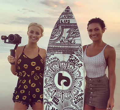 Come Behind The Scenes Of Our Surfboard Art Video